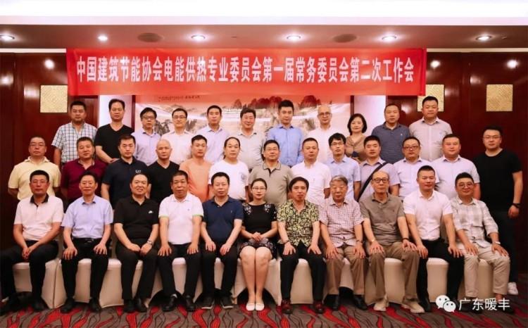 中国建筑节能协会电能供热专业委员会全员合影