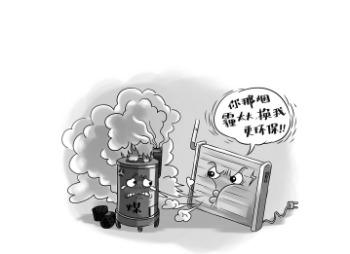 煤改电治理雾霾