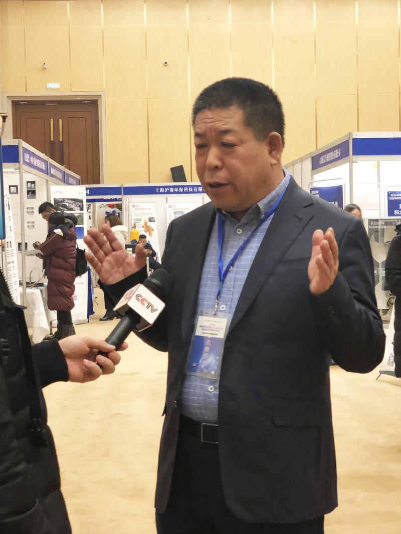 暖丰电热董事长、翰阳电热副董事长贾玉秋先生接受CCTV专访
