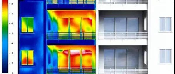 门窗热成像图