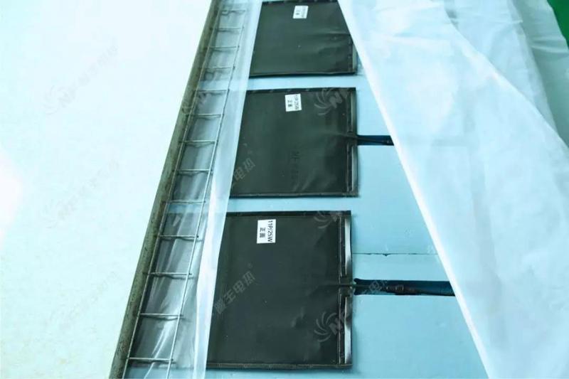 暖丰石墨烯电热膜房屋供暖系统剖面结构