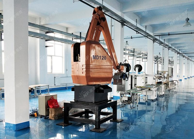 电热膜生产设备安装