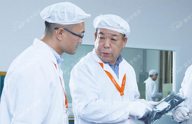 暖丰电热董事长贾玉秋主导石墨烯电热膜的研发工作