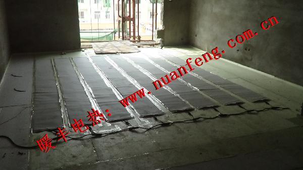 河南信阳电热膜,电热膜地暖施工时要注意的问题